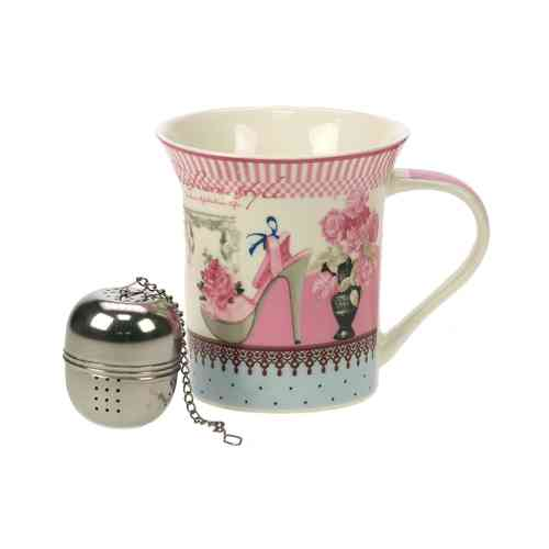 MUG FASHION MODE VINTAGE et SA BOULE A THE